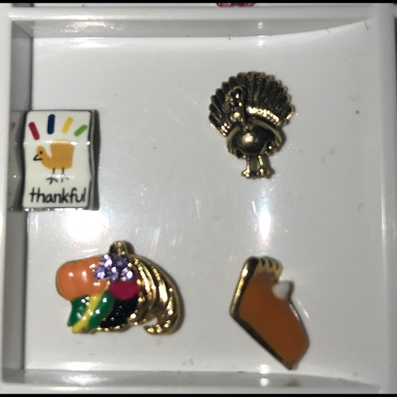 Authentic Origami Owl Gold Turkey Thanksgiving Holiday Charm ... | 580x580